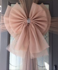 Rose Gold Deluxe Door Bow