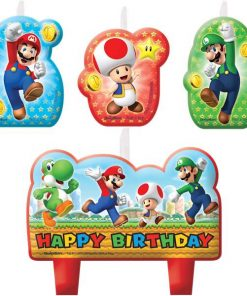 Super Mario Party Birthday Candles