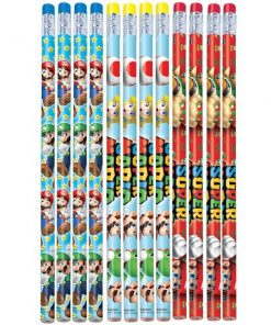 Super Mario Pencils