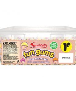 Swizzels Fun Gums Mushrooms Bulk Tub