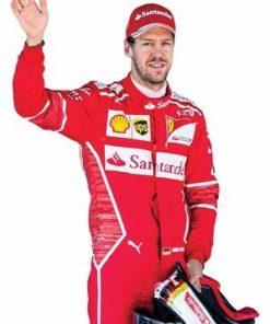 Sebastian Vettel Lifesize Cardboard Cutout