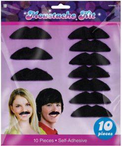 70s Disco Fever Moustaches