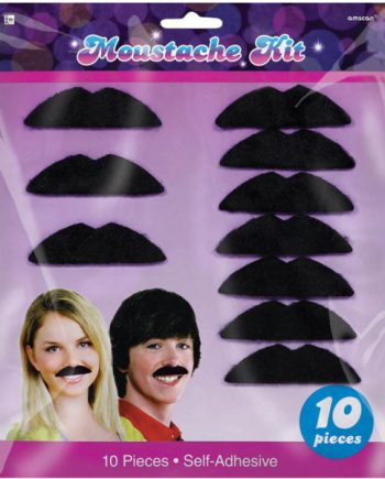 70s Disco Fever Moustaches