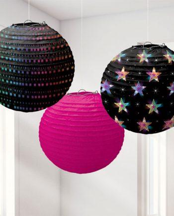 70's Disco Fever Paper Lanterns