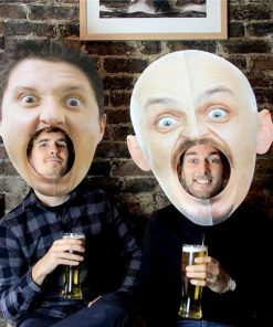 Big Headed Photo Booth Props