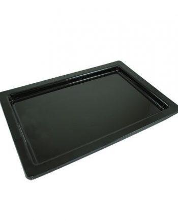 Black Plastic Sandwich Platter