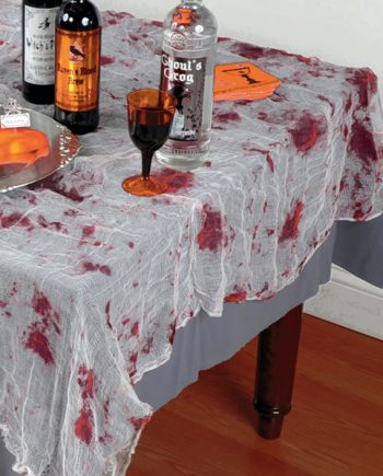Halloween Bloody Gauze Tablecloth