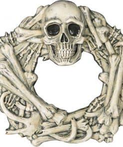 Halloween Boneyard Hanging Wreath