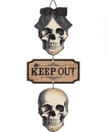 Boneyard Keep Out Sign