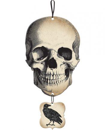 Halloween Boneyard Party Skull Sign