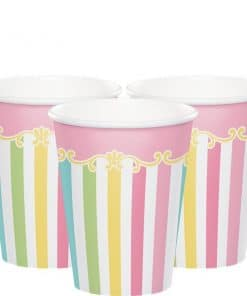 Carousel Baby Shower Party Paper Cups