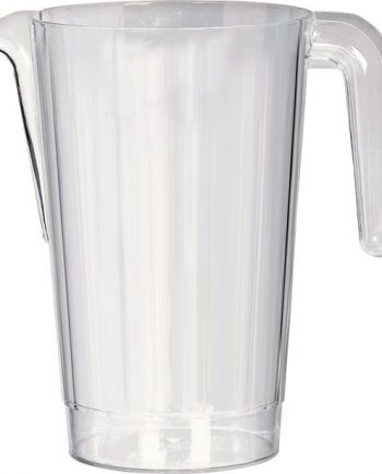Clear Plastic Pitcher Jug