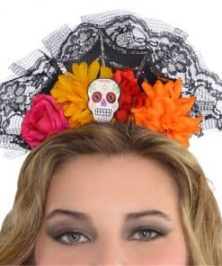 Halloween Day of the Dead Headpiece