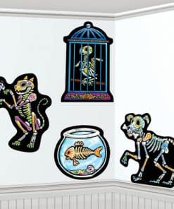 Halloween Day of the Dead Pet Cut Outs
