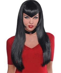 Halloween Deadly Beauty Black Wig