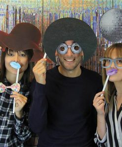 Disco Photo Booth Props
