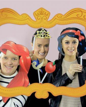 Disney Princess Photo Booth Prop