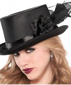 Halloween Embellished Top Hat