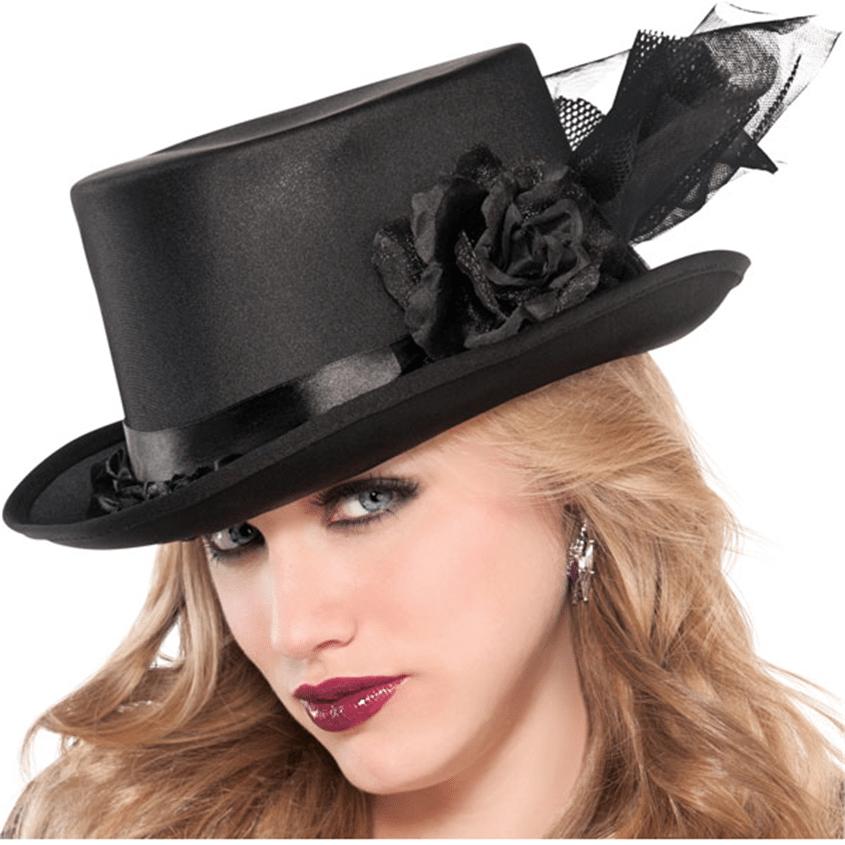 SeasonsTrading custom made black witch hat