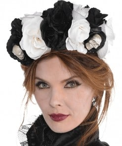 Halloween Floral Headband