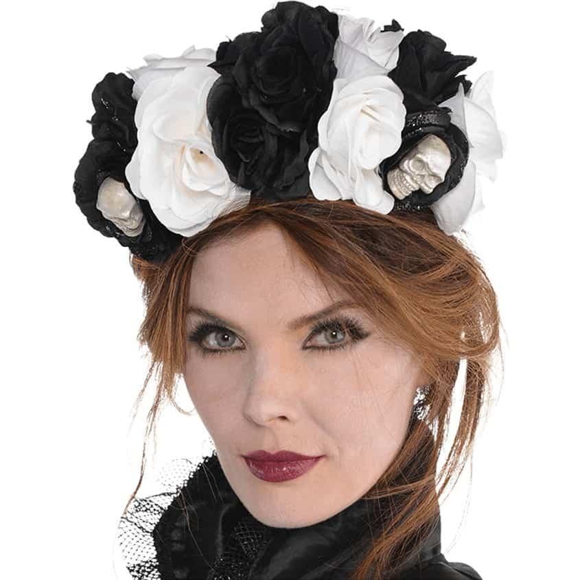 Buy Halloween Floral Headband - Fun Party Supplies 044fb8f0b03