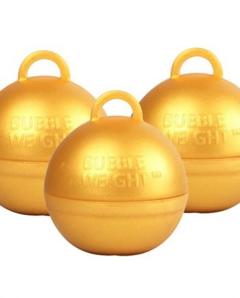 Gold Bubble Weight