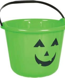 Green Pumpkin Bucket