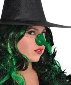Halloween Green Witch Nose