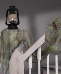 Halloween Grey Gauze Drape