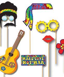 Hippie Photo Booth Prop Accessories