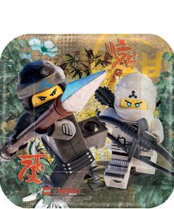 Lego Ninjago Party Square Plate