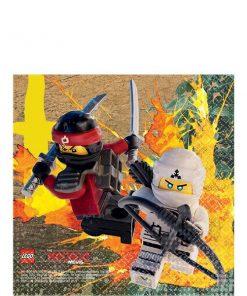 Lego Ninjago Party Beverage Napkin