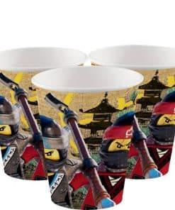 Lego Ninjago Paper Cups