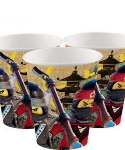 Lego Ninjago Party Plastic Cups