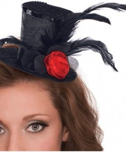 Halloween Mini Clip-on Top Hat