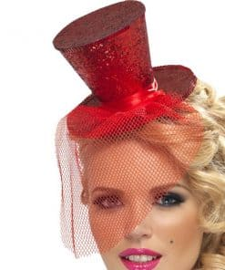 Mini Red Top Hat