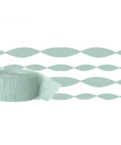 Mint Green Crepe Paper Streamer