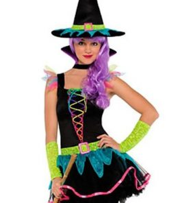 Neon Witch Costume