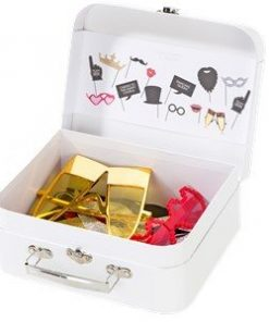 Photo Booth Props Kit with Carry Case