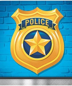 Police Party Paper Beverage Napkins