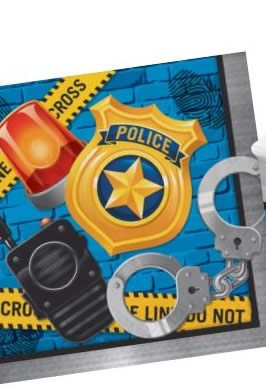 Police Party Paper Napkins