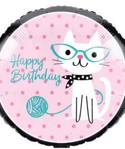 Purrfect Kitten Party Foil Balloon