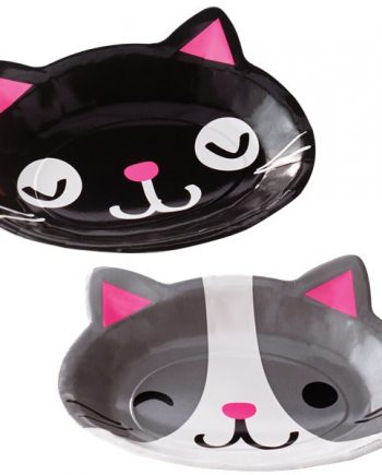 Purr-fect Party Assorted Plates