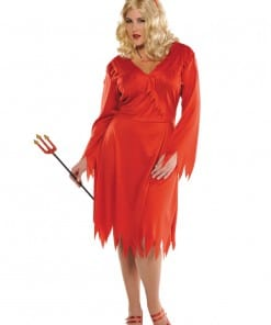 Adult Red Hot Devil Costume