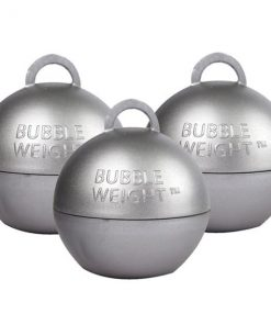Silver Bubble Weight