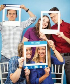 Social Snaps Photo Booth Frames