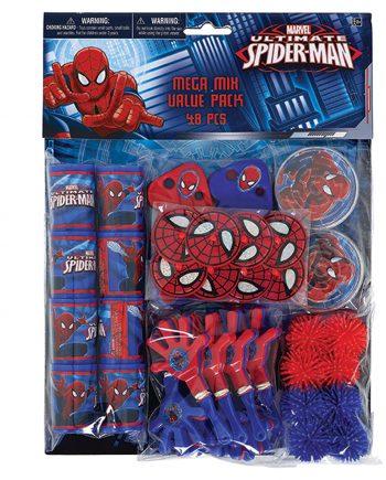 Spider-Man Mega Mix Value Pack