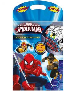Spiderman Chunky Crayons