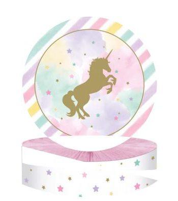 Unicorn Sparkle Party Honeycomb Centrepiece