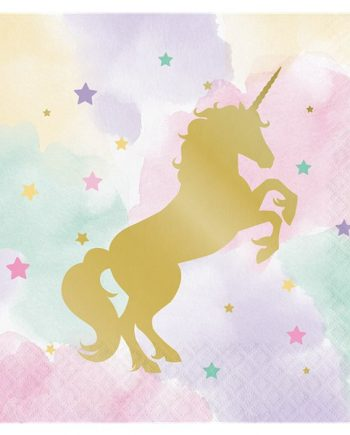 Unicorn Sparkle Luncheon Napkins